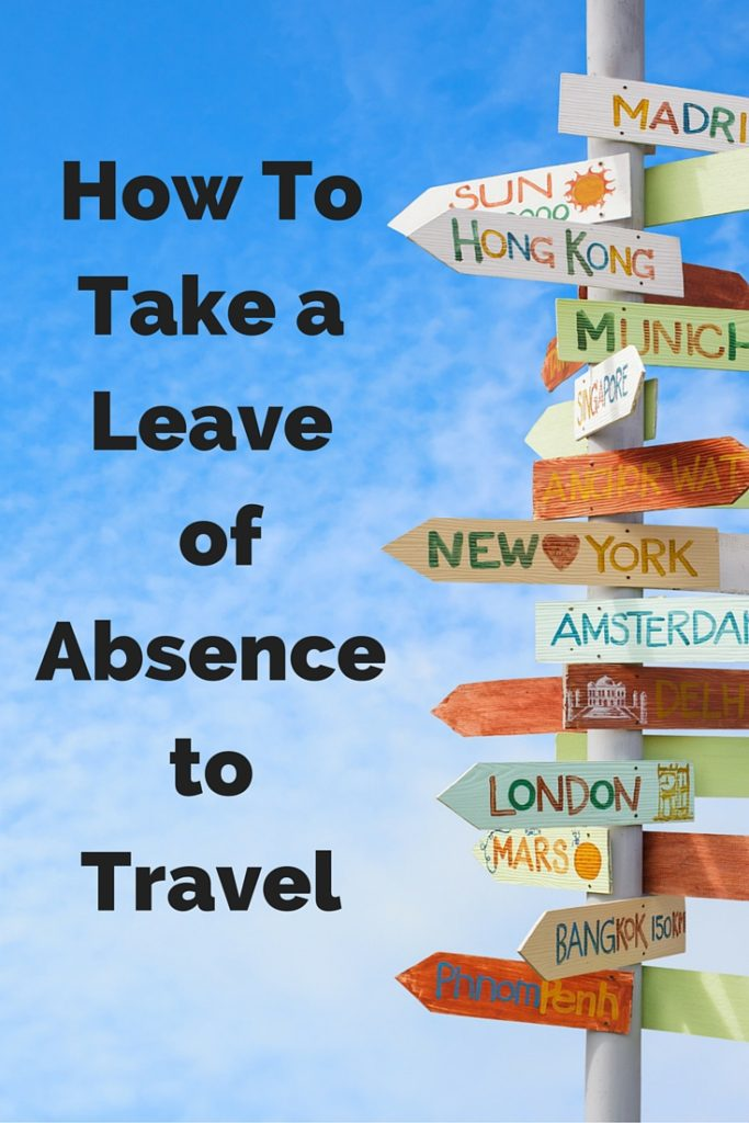 leave of absence to travel