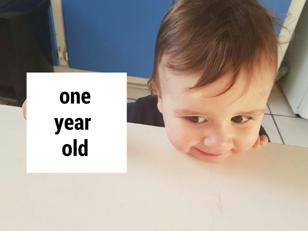 one year old