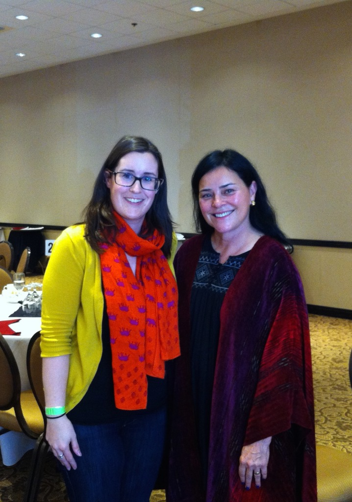 Yep, I met and interviewed Diana Gabaldon