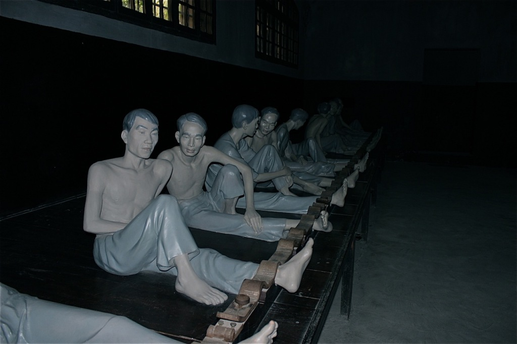Exhibit at the Hanoi Hilton, Hoa Lo Prison