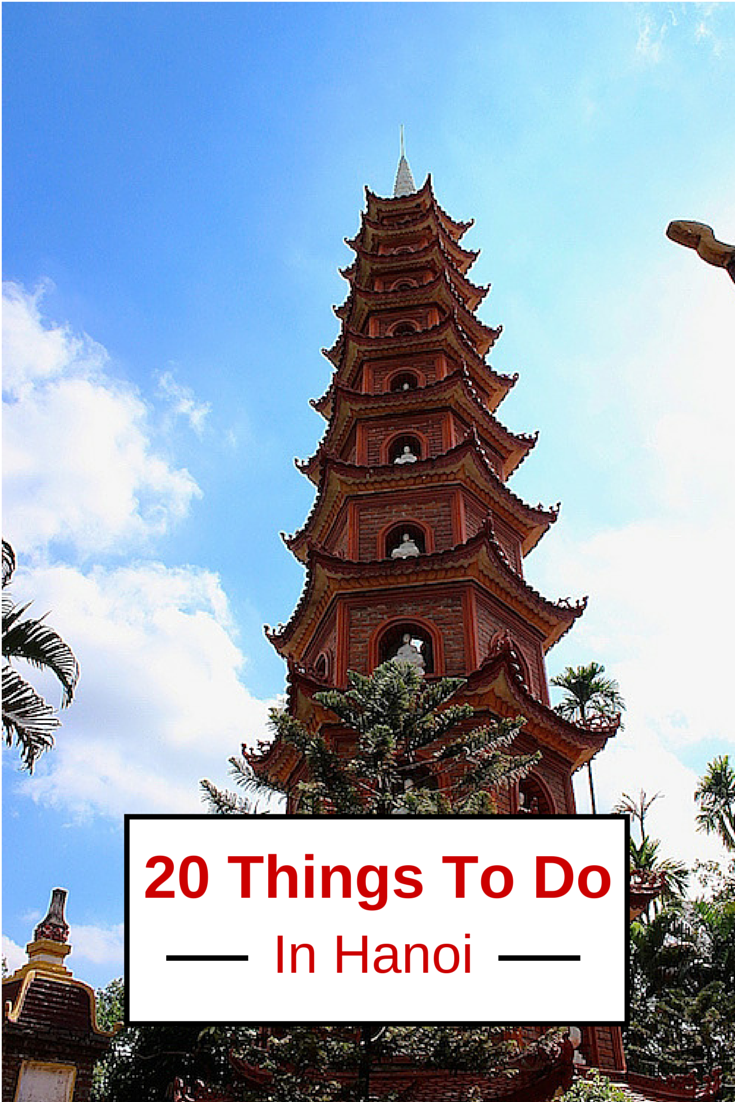 20 things to do in hanoi